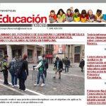 Los alumnos de Soldadura en el Boletín del Departamento de Educación