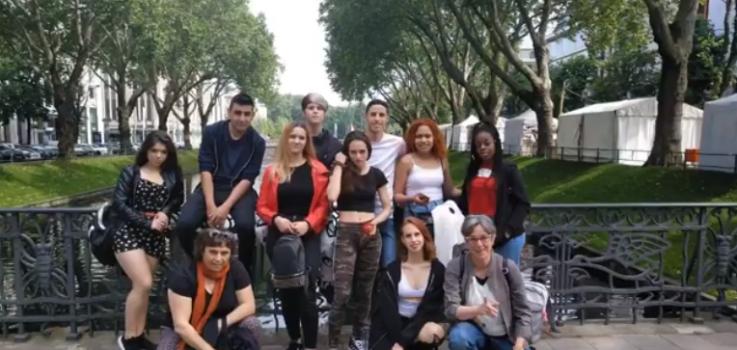 El alumnado del IES Huarte en Alemania