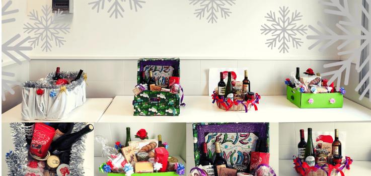 Sorteo cestas de Navidad